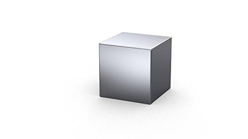 50 x Cubi magnetici al Neodimio 3 x 3 x 3 mm | Nichelato (NiCuNi) | Forza di attrazione circa: ~ 0.4 kg | 50 pz. Cubo magnetico