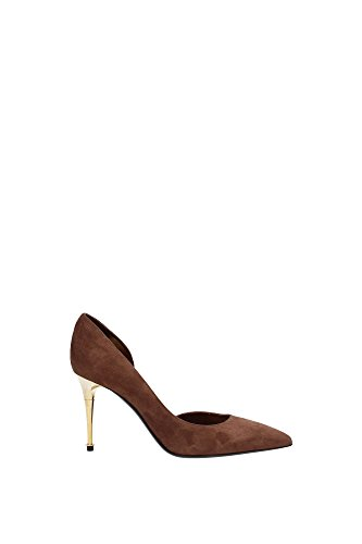 115W1292TSUECRM-Tom-Ford-Talon-Femme-Chamois-Marron-clair