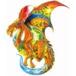 Sunsout Dragon Dreams Shaped 1000 Piece ...