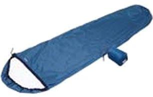 モンベル 寝袋 UL.スリーピングバッグカバー ブルーサファイア