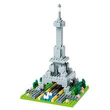 NanoBlock Sites to See - Eiffel Tower