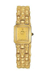 Seiko Women's Gold-tone I watch #SWA048