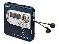 Sony MZ-NH600 Blue Hi-MiniDisc Walkman