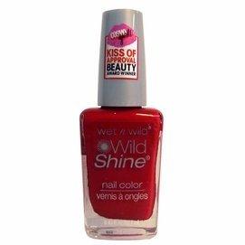 ウェットアンドワイルド WILD SHINE NAIL COLOR #414A RED RED