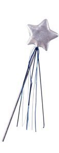 Rubie's Costume Co Princess Star Wand Costume, White, White