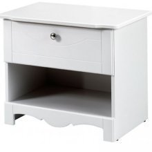 Dixie 1 Drawer Nightstand front-809146