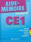 Aide-M�moire Passeport : CE1 - 7-8 ans