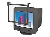 Fellowes Privacy Screen Filter for 16/17-Inch CRT and 17-Inch LCD Monitors, Black Frame (93780)