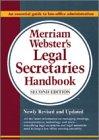 Merriam-Webster's Legal Secretaries H...