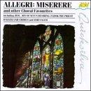 Miserere Choral Works