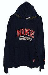 Nike Hooded Sweatshirt Xl Mens Navy