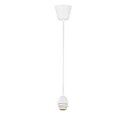 Pendel di ricambio per lampadari in plastica bianco