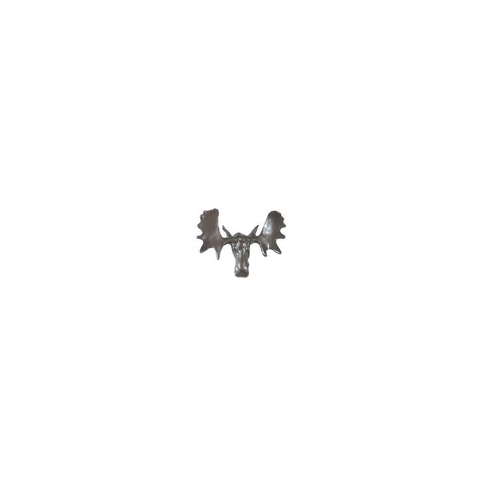 Wild Animal Collection Small Moose Head Knob
