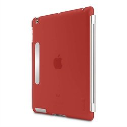 Belkin Snap Shield F8N745 Secure Case (Red) for iPad (F8N745CWC02)