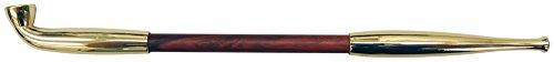 TSUGE-Japanese-Gold-Tabacco-Pipe-MARUFUKU-GISERU-KIN-L-50931