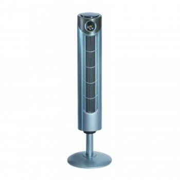 Optimus 42Inch Tower Fan With Remote &Amp Lcd Digital Display-2Pack