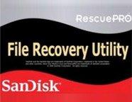 Sandisk RescuePro Recovery Software, V3.3 Disk