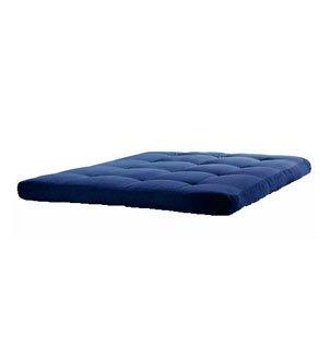 Matching Bedrooms 1 Seater Single Blue Futon Mattress