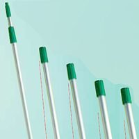 """Unger Industrial Tf900 """"Tele-Plus"""" Commerical Grade Extension Poles 30 Ft"""