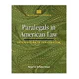 Paralegals in American Law (Delmar Lcp Series)