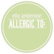 Name Labels - Allergy Warning