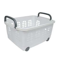 IRIS® Rolling and Stacking Basket