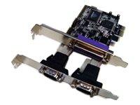 LONGSHINE Seriell-Karte 2-Port, PCIe, LCS-6322