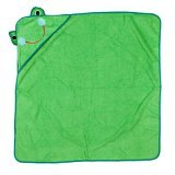Baby Hooded Towel - Frog - 1