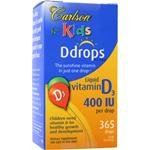 Carlson Labs Carlson For Kids Natural Vitamin D Drops, 400 I
