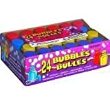 2 X Assorted Coloured Party Bubbles pack of 24