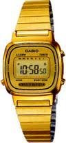 Casio Womens LA670WGA-9 Gold Stainless-Steel Quartz Watch