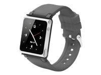 iWatchz CLRCHR22GRY Q Collection Wrist Strap for iPod Nano 6G, Grey
