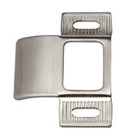 "Adjustable Door Strike, 2 3/4"" Brushed Nickel"