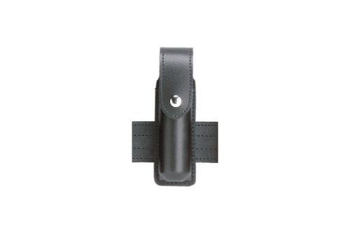 Safariland Duty Gear MK4 Black Hidden Snap OC Pepper Spray Holder (Plain Black Hidden Snap)