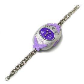 """Disney Fairies """"Purple"""" Pixie Hollow Clickables Fairy Friendship Bracelet - 1"""
