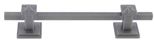 Atlas Homewares 259-P 6-Inch Craftsman Corner California Craftsman Pull, Pewter front-1066974