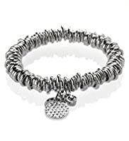 Autograph Pave Disc Bracelet MADE WITH SWAROVSKI® ELEMENTS