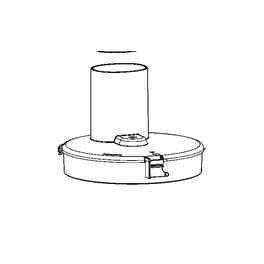 Moulinex FP513HB1 - Coperchio robot da cucina multifunzione Masterchef 5000, colore: Trasparente