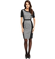M&S Collection Contrast Panelled Shift Dress