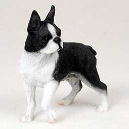 Boston Terrier Figurine - Gift for Dog Lovers
