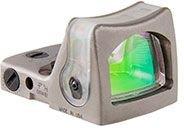 Ruggedized Miniature Reflex Rm05-C-700065 Nickel Boron Dual Illuminated 9.0 Moa Amber Dot Sight