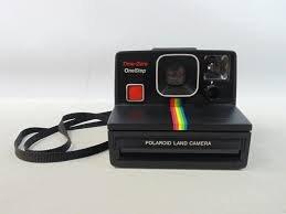 Vintage Polaroid Time-Zero OneStep SX-70 Land Camera