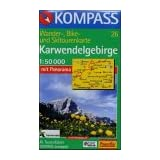 Karwendel-Gebirge : Hall i. Tirol, Innsbruck, Mittenwald, Pertisau, Scharnitz, Schwaz, Seefeld, Wattens, Zirl;...