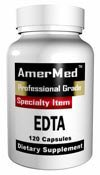 Edta - By Amermed - 120 Capsules, EDTA (Calcium Disodium) 800 mg Digestive Aid, 120 Capsules