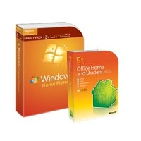 Microsoft Windows 7 Home 3 PC and Student 2010