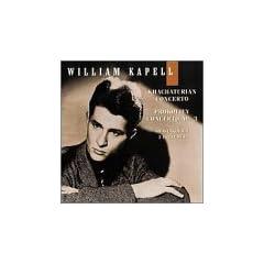 William Kapell Edition Vol 4: Prokofiev: Piano concerto no. 3 / Khachaturian: Piano concerto / Shostakovich: Preludes for piano