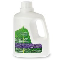Seventh Generation Natural Laundry Detergent, Lavender Scented, Ultra-Concentrated Liquid, 100-Ounce Bottles (Pack of 4)