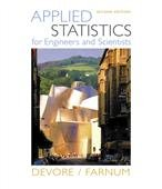 Applied Statistics: For Engineers and Scientists (w/o CD)