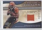 T.J. Houshmandzadeh/199 #112/199 Seattle Seahawks (Football Card) 2009 Upper Deck Icons Decade of Dominance Jerseys #DDHO at Amazon.com