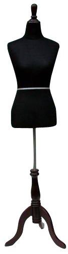 New Black Female Dress Form Size 6-8 Medium 35